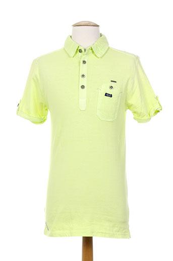 mzgz t-shirts homme de couleur vert