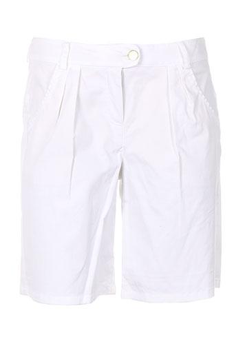 nuni shorts / bermudas femme de couleur blanc