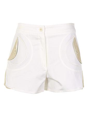 nuni shorts / bermudas femme de couleur beige