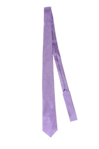 elios cravates homme de couleur violet