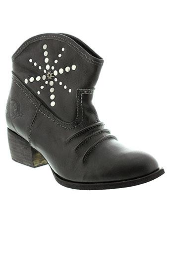 republyka chaussures femme de couleur noir