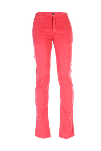 hero seven pantalons homme de couleur rouge