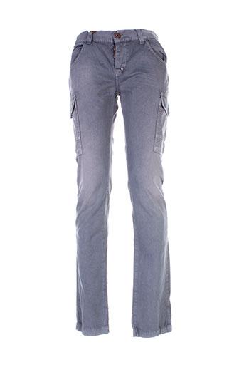 sixty et seven pantalons et decontractes homme de couleur gris