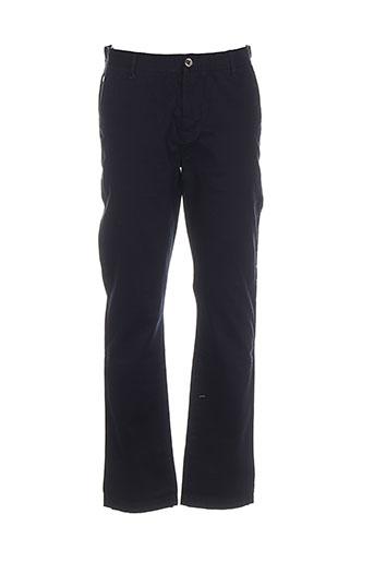 gold lab pantalons homme de couleur bleu