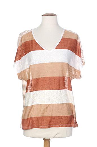 le petit baigneur chemises femme de couleur marron