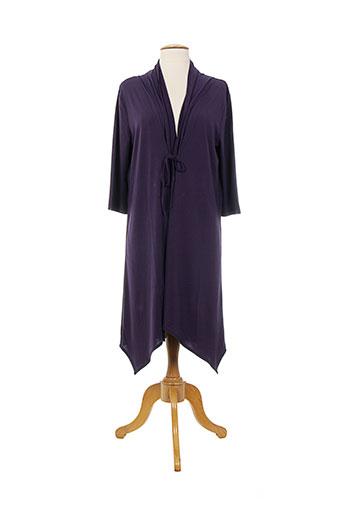 anita robes et de et chambre et peignoirs femme de couleur violet (photo)