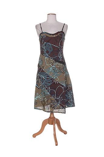 cheshire robes femme de couleur marron