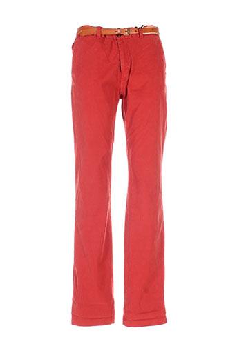scotch EFFI_CHAR_1 soda pantalons homme de couleur rouge