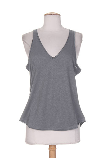 essentiels chemises femme de couleur gris