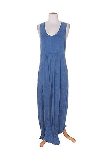 ams pure robes femme de couleur bleu