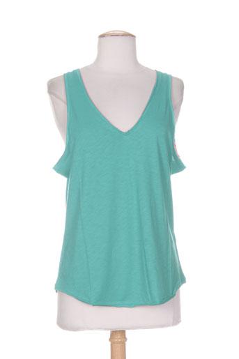 essentiels chemises femme de couleur vert