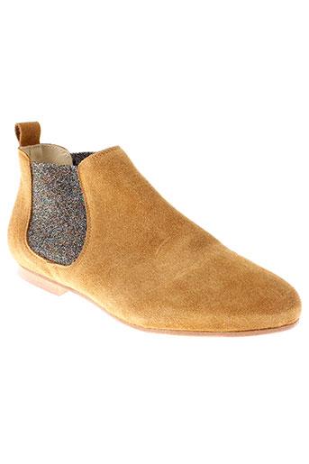 anniel boots femme de couleur marron