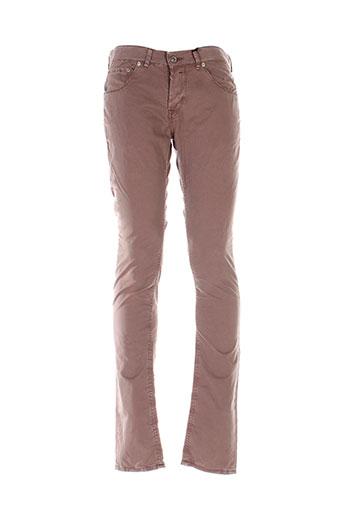 baldessarini pantalons homme de couleur marron