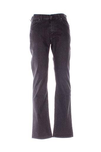 trussardi jeans jeans homme de couleur noir
