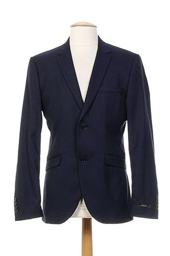 jack EFFI_CHAR_1 jones vestes homme de couleur bleu