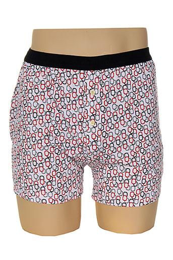 arthur shortys et boxers homme de couleur rouge