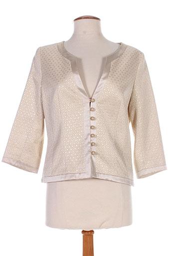 antonelle vestes femme de couleur beige