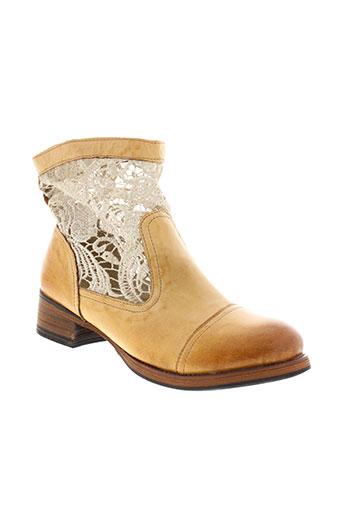 kdopa boots femme de couleur marron