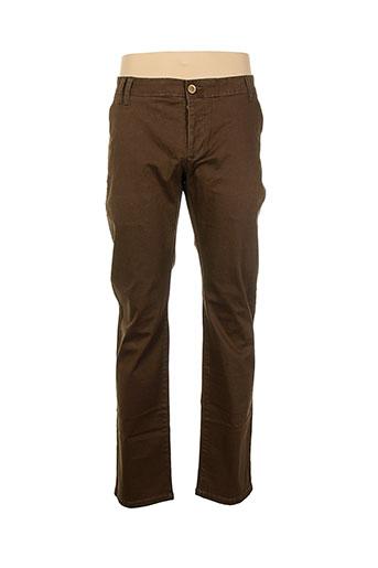 highness pantalons et decontractes homme de couleur marron