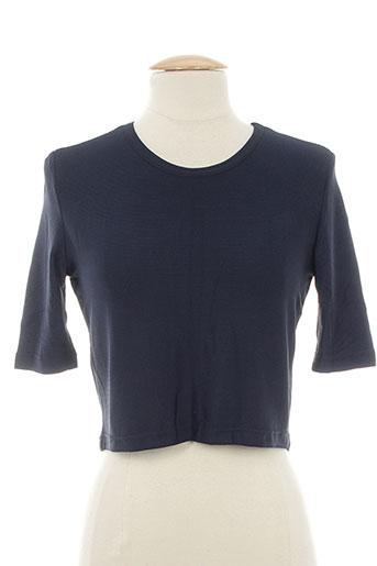 shirting t-shirts femme de couleur noir