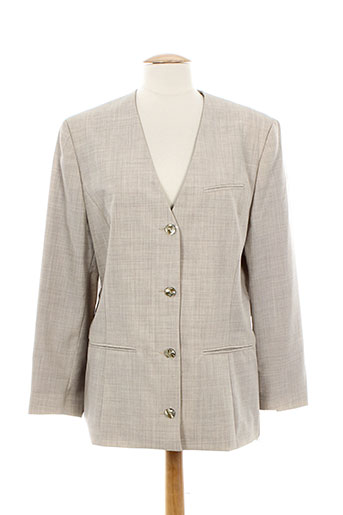 Veste casual gris DIAPOSITIVE pour femme