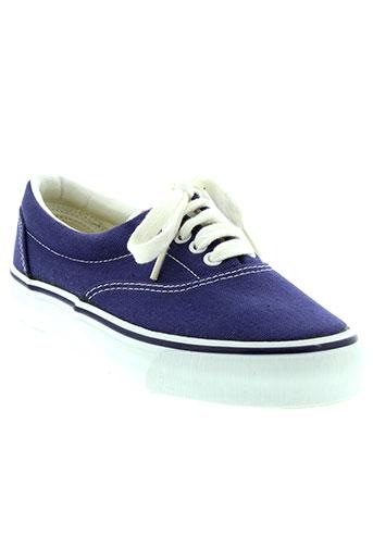 pom d'api chaussures femme de couleur bleu