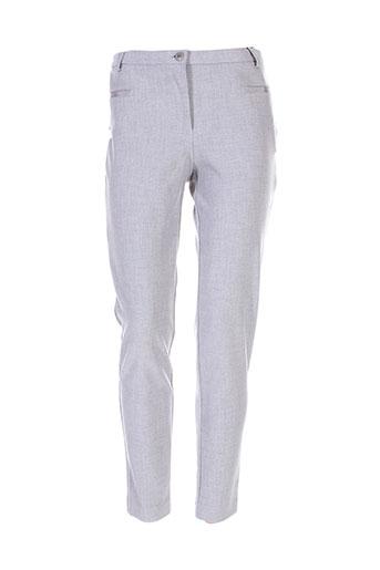 ana sousa pantalons femme de couleur gris