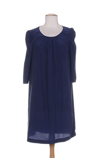 masscob robes femme de couleur bleu