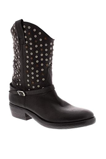 catarina et martins boots femme de couleur noir