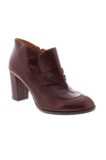 chie et mihara boots femme de couleur marron