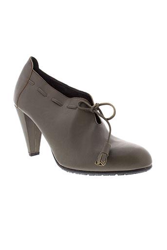 maloles chaussures femme de couleur gris