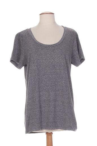 breizh angel chemises femme de couleur gris