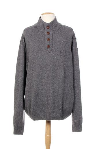 n.z.a new zealand pulls homme de couleur gris