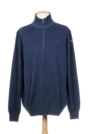 n.z.a new zealand pulls homme de couleur bleu