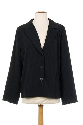 gevana vestes femme de couleur noir