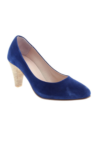 ayame escarpins femme de couleur bleu