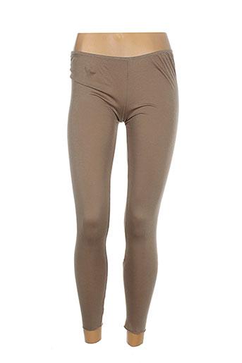 guardaroba pantalons femme de couleur marron