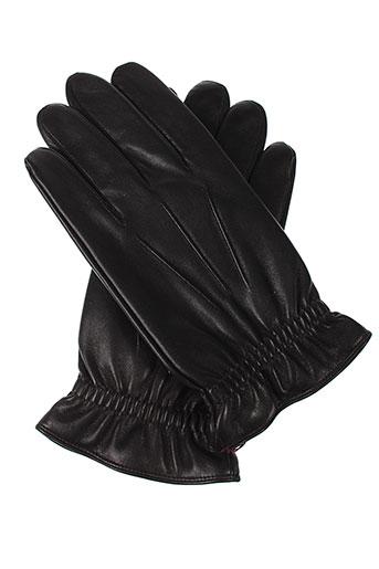 agnelle echarpes et gants homme de couleur noir