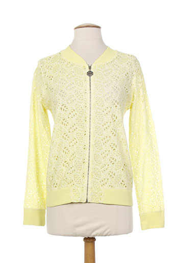 lunatisme vestes femme de couleur jaune