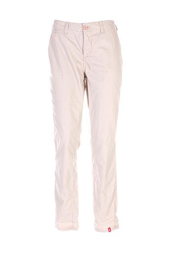 edc et by et esprit pantalons et decontractes femme de couleur beige