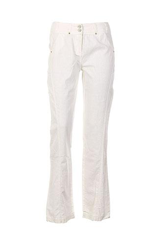 salt EFFI_CHAR_1 pepper pantalons femme de couleur beige