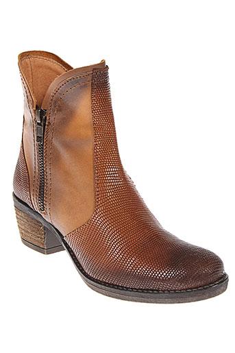 hors et limite boots femme de couleur marron