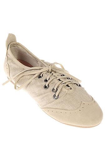 one et step derby femme de couleur beige