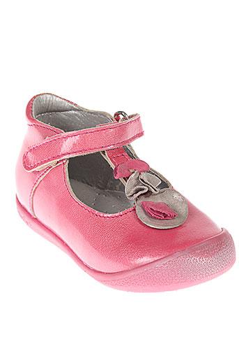 babybotte villes fille de couleur rose