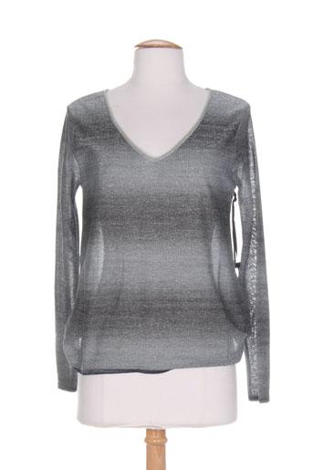 dikton's pulls femme de couleur gris