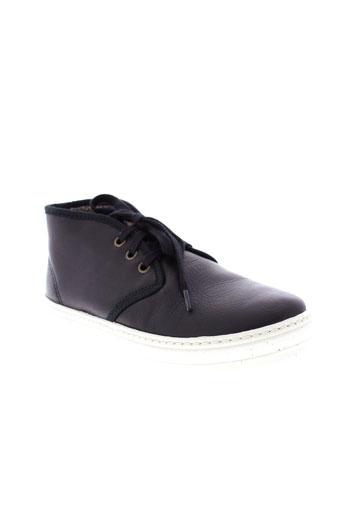 natural world chaussures garçon de couleur noir