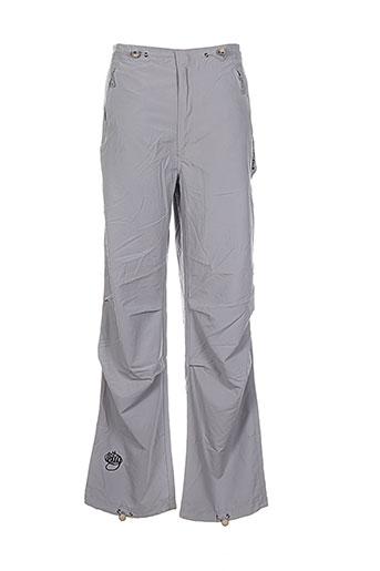 wrung pantalons homme de couleur gris