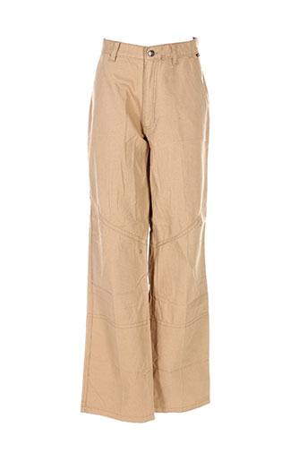 ddp pantalons homme de couleur beige
