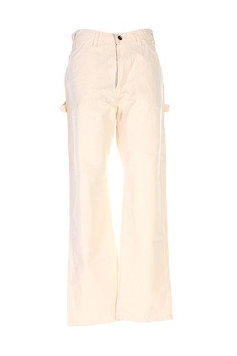 dickies pantalons et decontractes homme de couleur beige