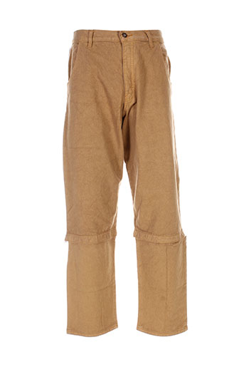 Pantalon casual beige DREADY pour homme